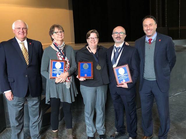 Robbie Ethridge wins inaugural Liberal Arts Research, Scholarship, and Creative Achievement award